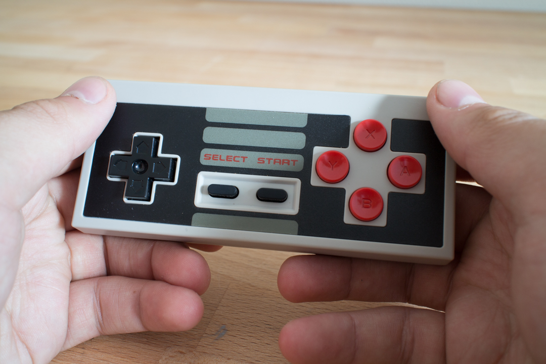 Test: 8Bitdo NES30 Gamepad