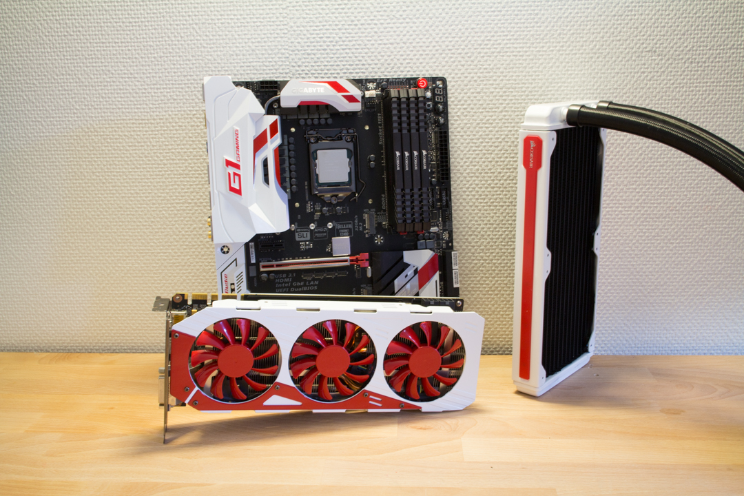 How To Mod: Painting Your Radiator And Graphics Card